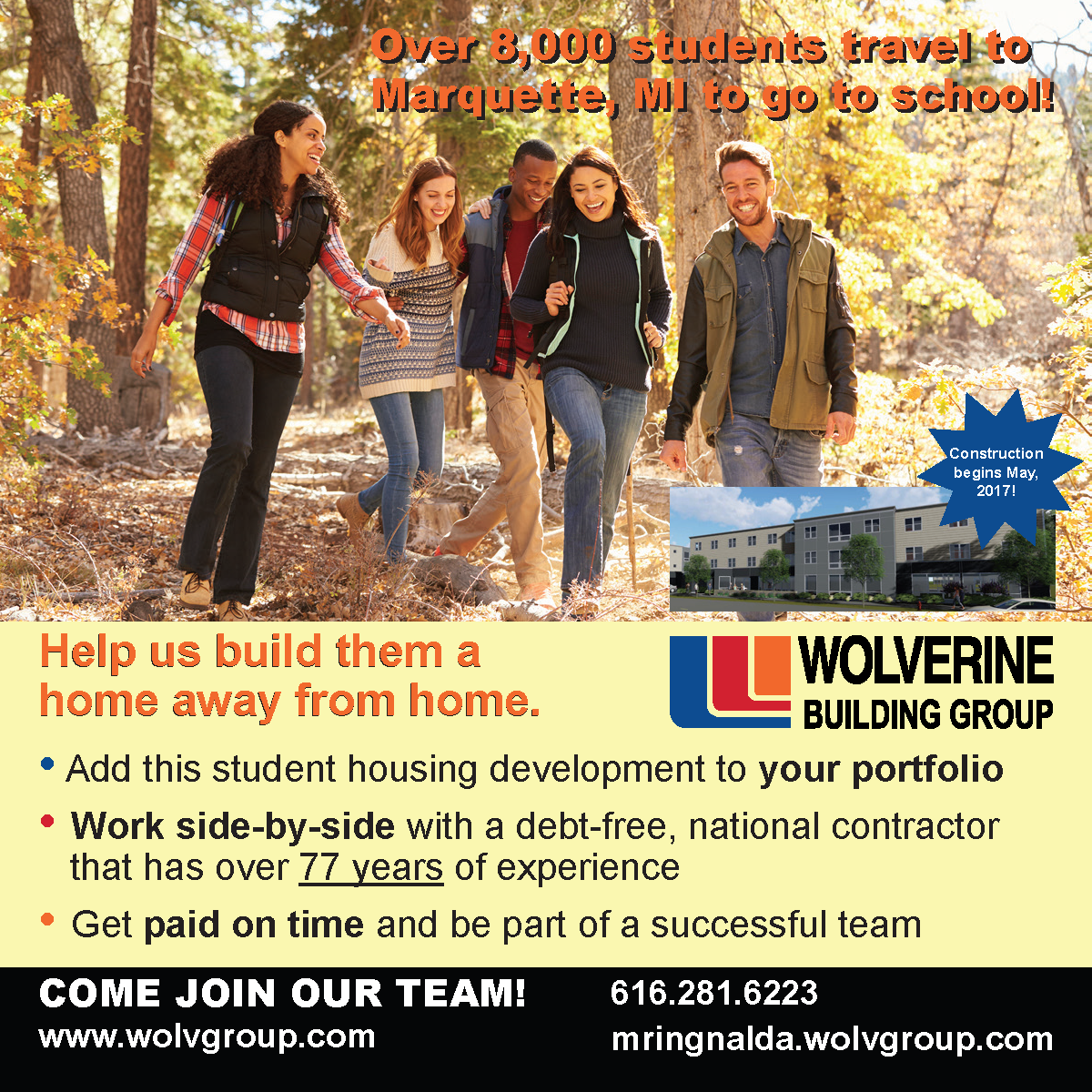 Sugarloaf Student Housing Subcontractor